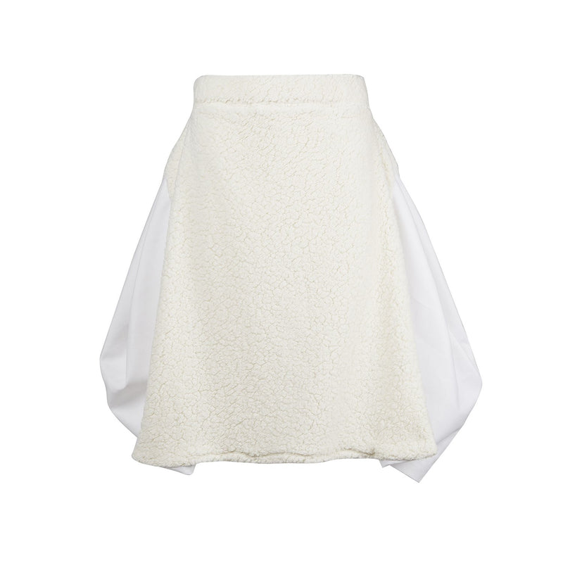 Malaika New York 3D Fur Skirt-Skirts-DREEMS