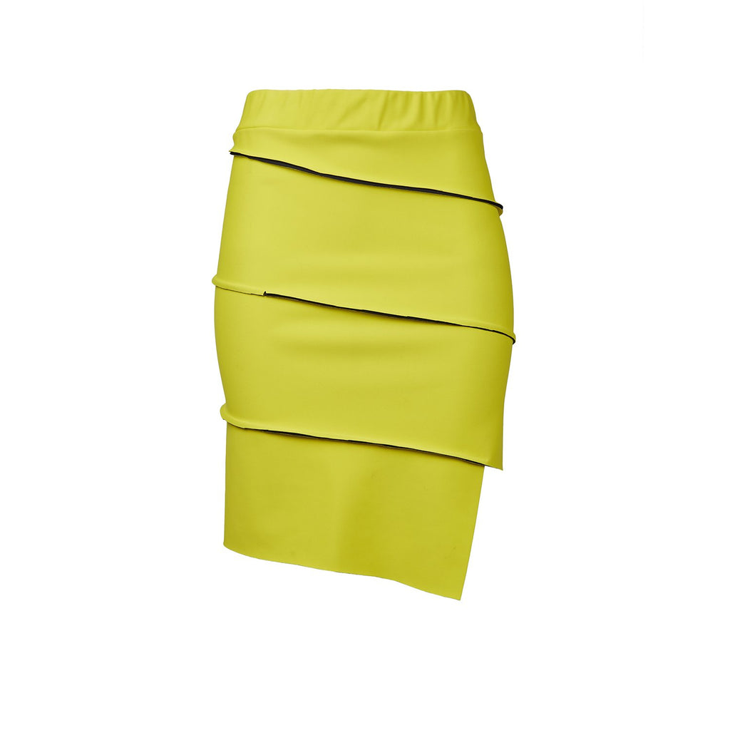 Malaika New York Yellow Bike Tube Skirt-Skirts-DREEMS