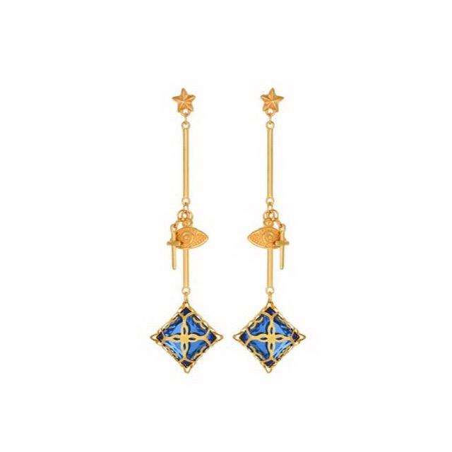 "Mara ""Efxi"" Charm Earrings-Jewelry-DREEMS"