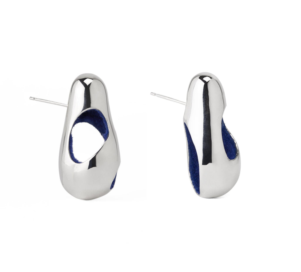 Monica Varela Falie Maxi Stud-Earrings-DREEMS