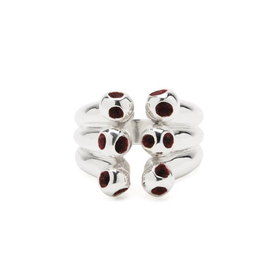 Monica Varela Yoem Six Ball Ring-Rings-DREEMS