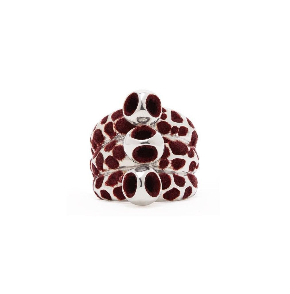 Monica Varela Yoem Triple Pattern Ring-Rings-DREEMS