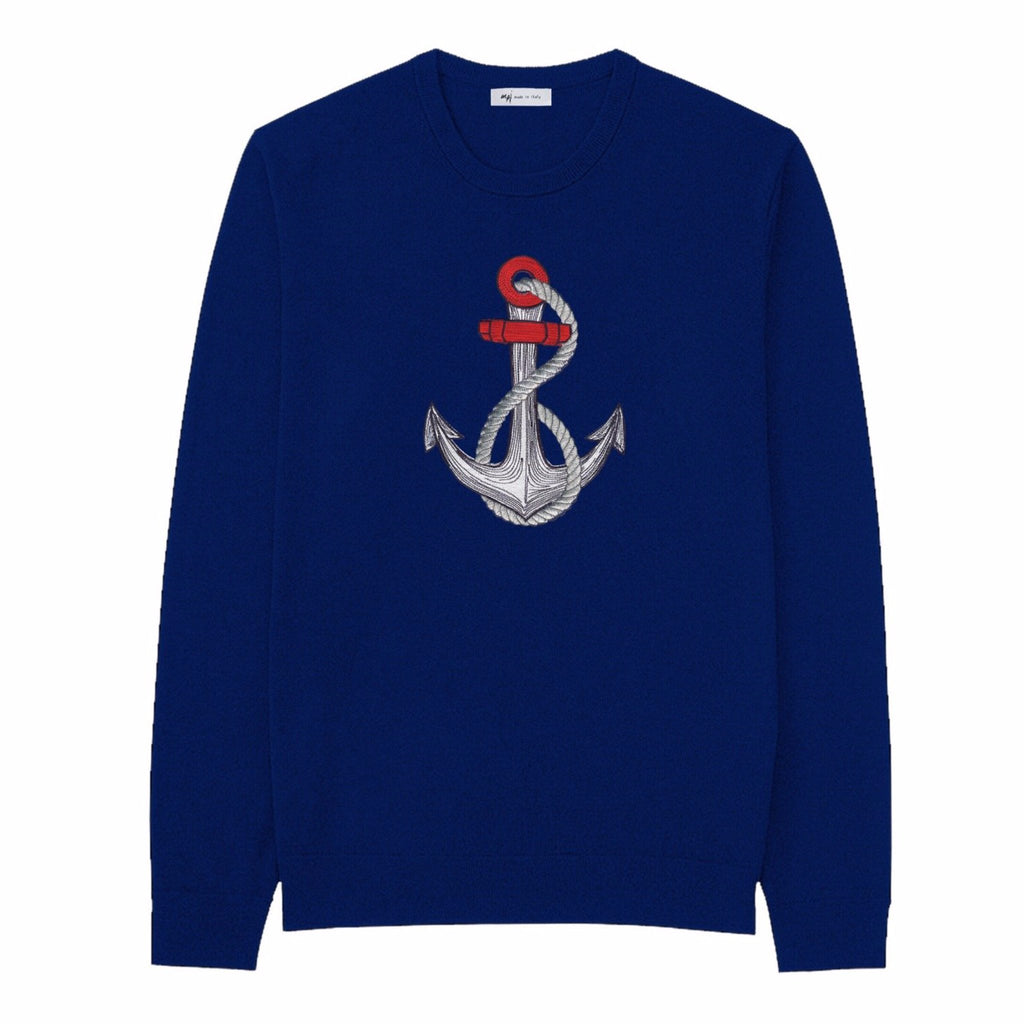 MPJ Sailor Embroidered Pull-Over-Sweatshirt-DREEMS