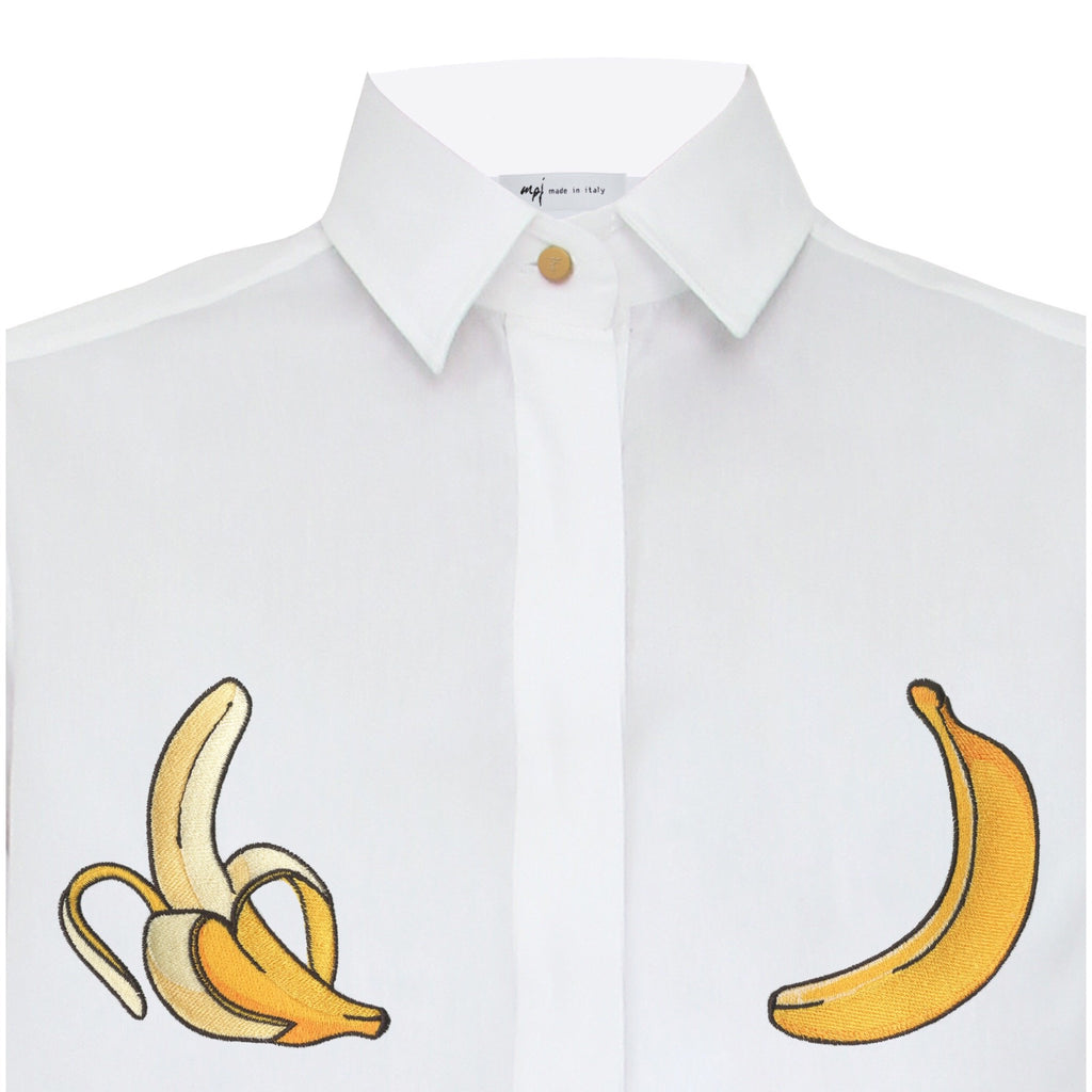 MPJ Yellow Embroidered Shirt-Shirts-DREEMS