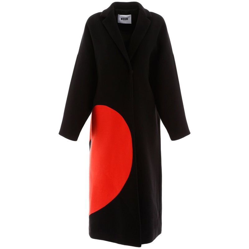 MSGM Broken Heart Coat