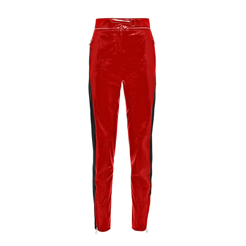 MSGM Pantalone Biker Stripes Pants