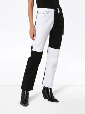 MSGM Pantalone Denim Pants