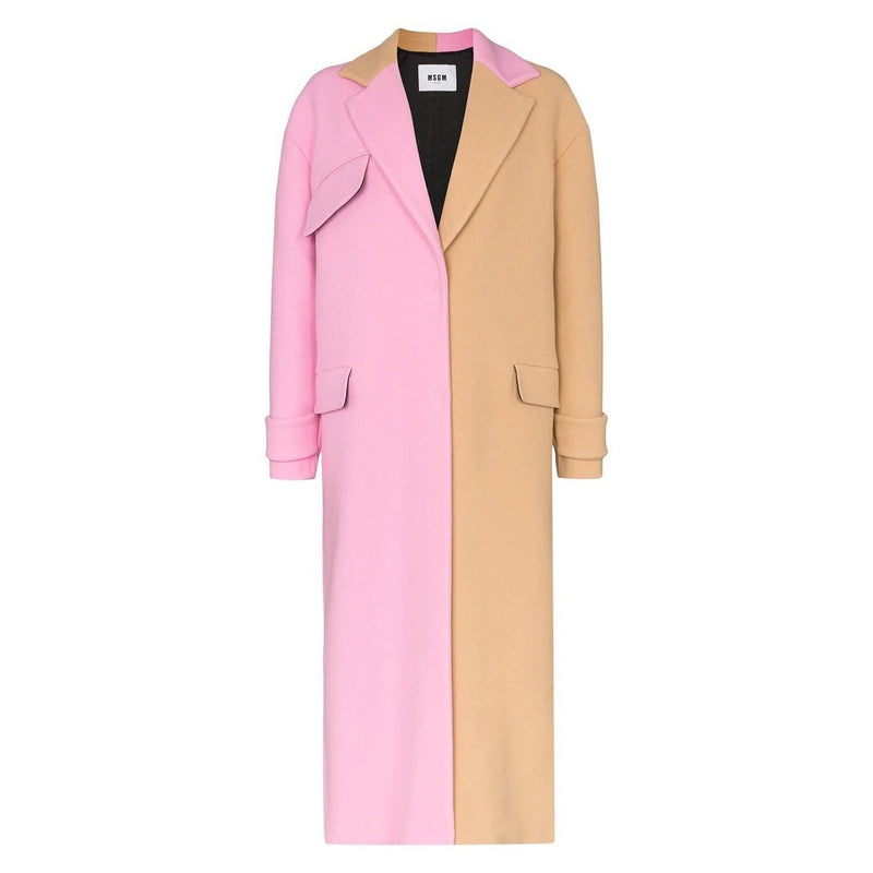 MSGM Two-Tone Long Coat