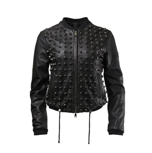Musher Leather Bomber-Jackets-DREEMS