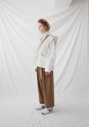 Nueque Crop Wide Leg Pants-Pants-DREEMS