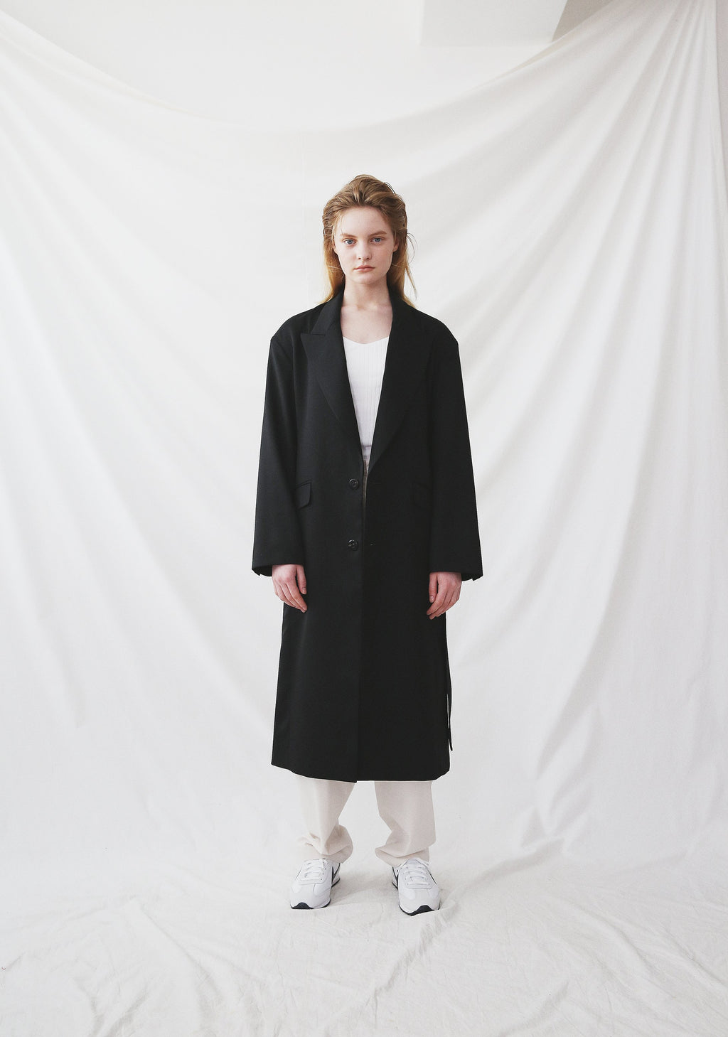 Nueque Oversized Long Coat-Outerwears-DREEMS