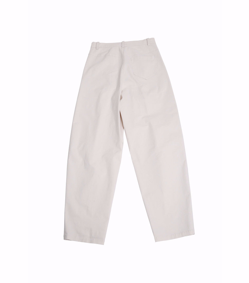 Nueque Tapered Fit Cotton Pants-Pants-DREEMS
