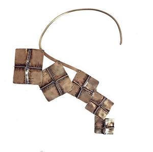 RAIYA DESIGNS Hip to be Square Necklace-Jewelry-DREEMS