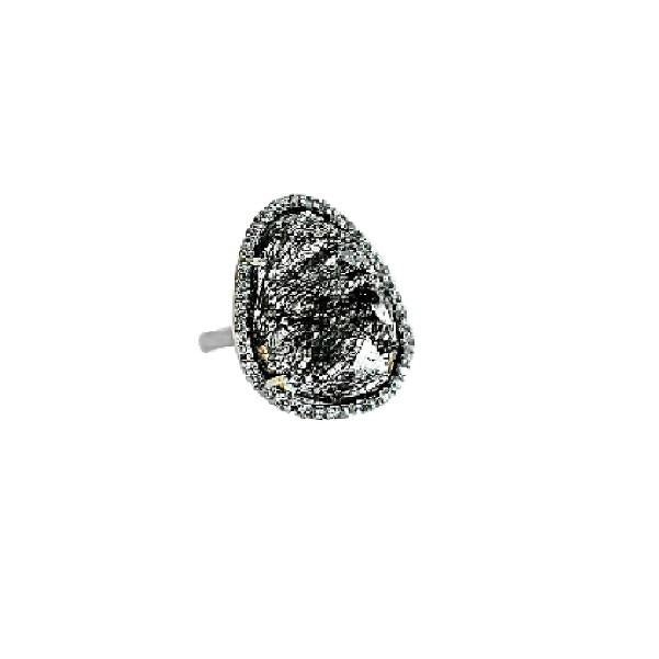 Shimmer by Cindy BR Abstract Halo Ring-Jewelry-DREEMS