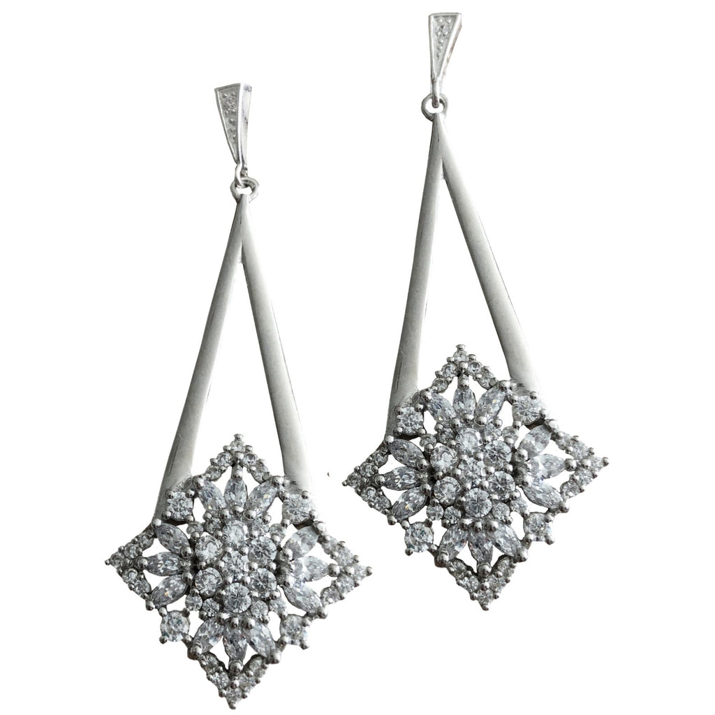 Shimmer by Cindy Timeless Cocktail Earrings-Jewelry-DREEMS