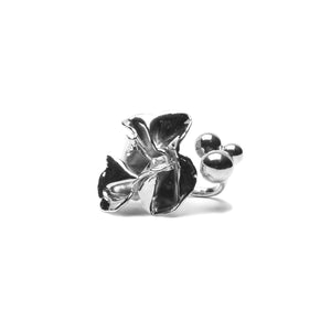 Sterling King Delphinium Ring
