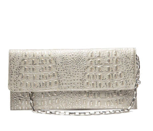 SSY The Gabriel Leather Clutch-Bags-DREEMS