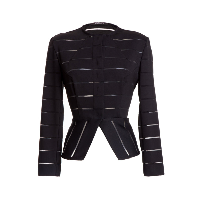TALABAYA Iris Striped Jacket