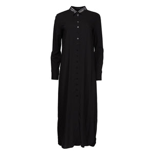 TALABAYA Talashirt Long Dress with Application-Dresses-DREEMS