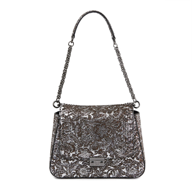 THE COLLECTOR ASCIA Python Shoulder Bag-Bags-DREEMS