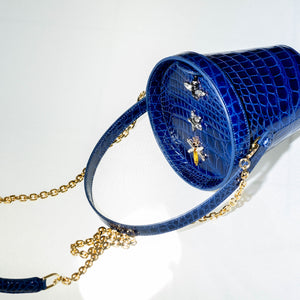 THE COLLECTOR Spring Azure - Alligator-Bags-DREEMS