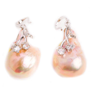 Timara Timeless Jewelry LJE189C-Earrings-DREEMS