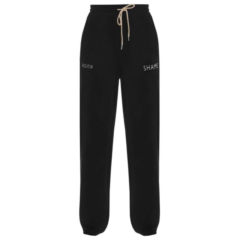 Walk of Shame Black Sweatpants-Pants-DREEMS