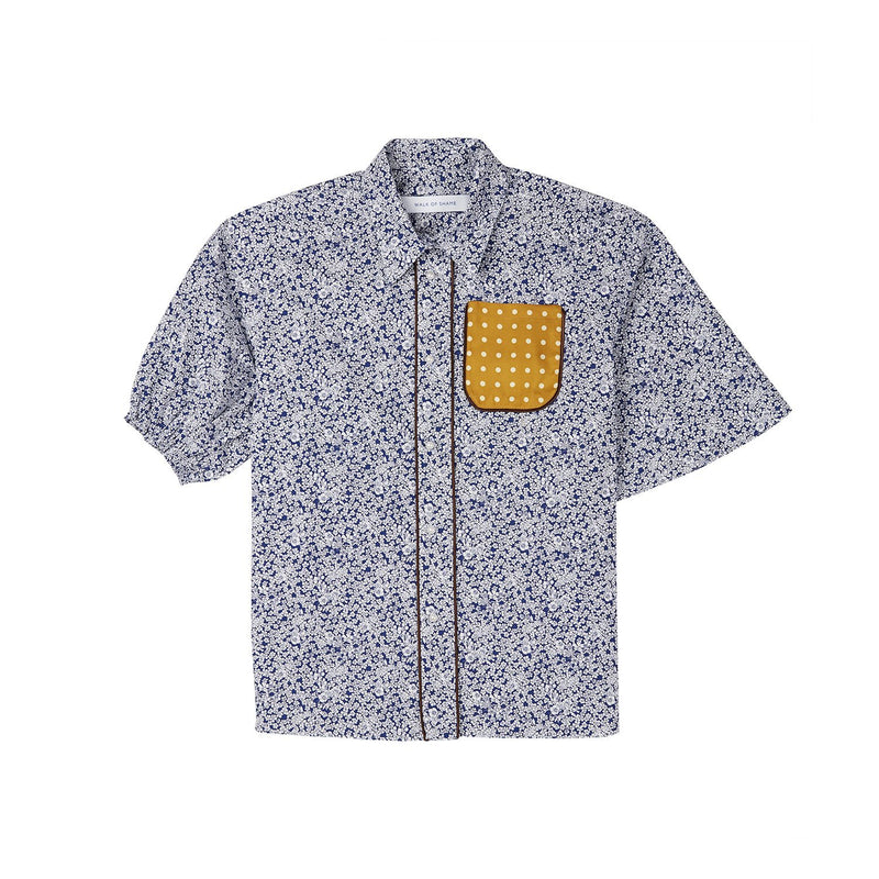 Walk of Shame Flower Printed Shirt-Shirts-DREEMS
