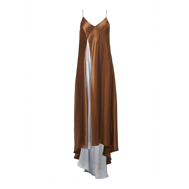 Walk of Shame Long Trail Slip Dress-Dresses-DREEMS