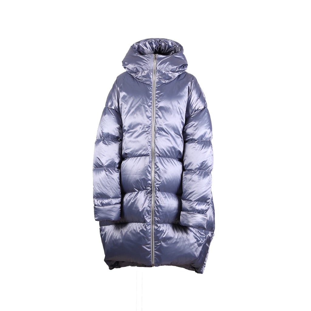 Zibroo Indigo Lined Quilted Down Jacket