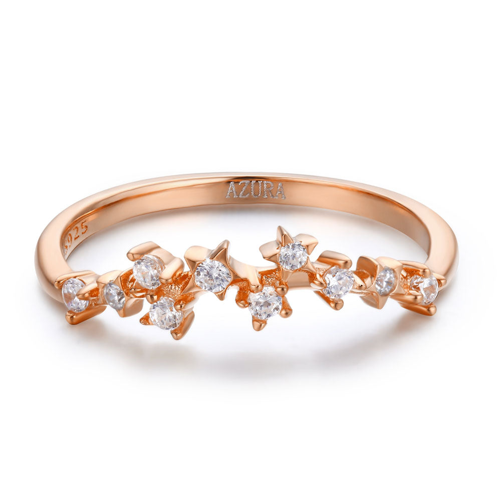 Starry Night Ring (Rose Gold)