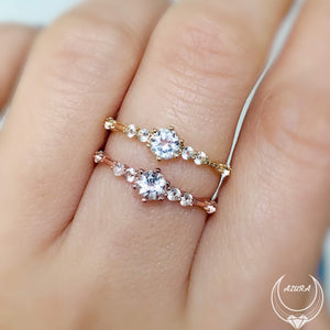 The Center of the Universe Ring (Rose Gold)