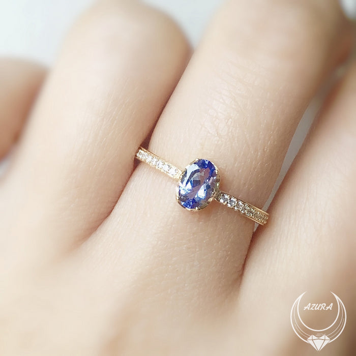 Tanzanite Purple Sky Ring