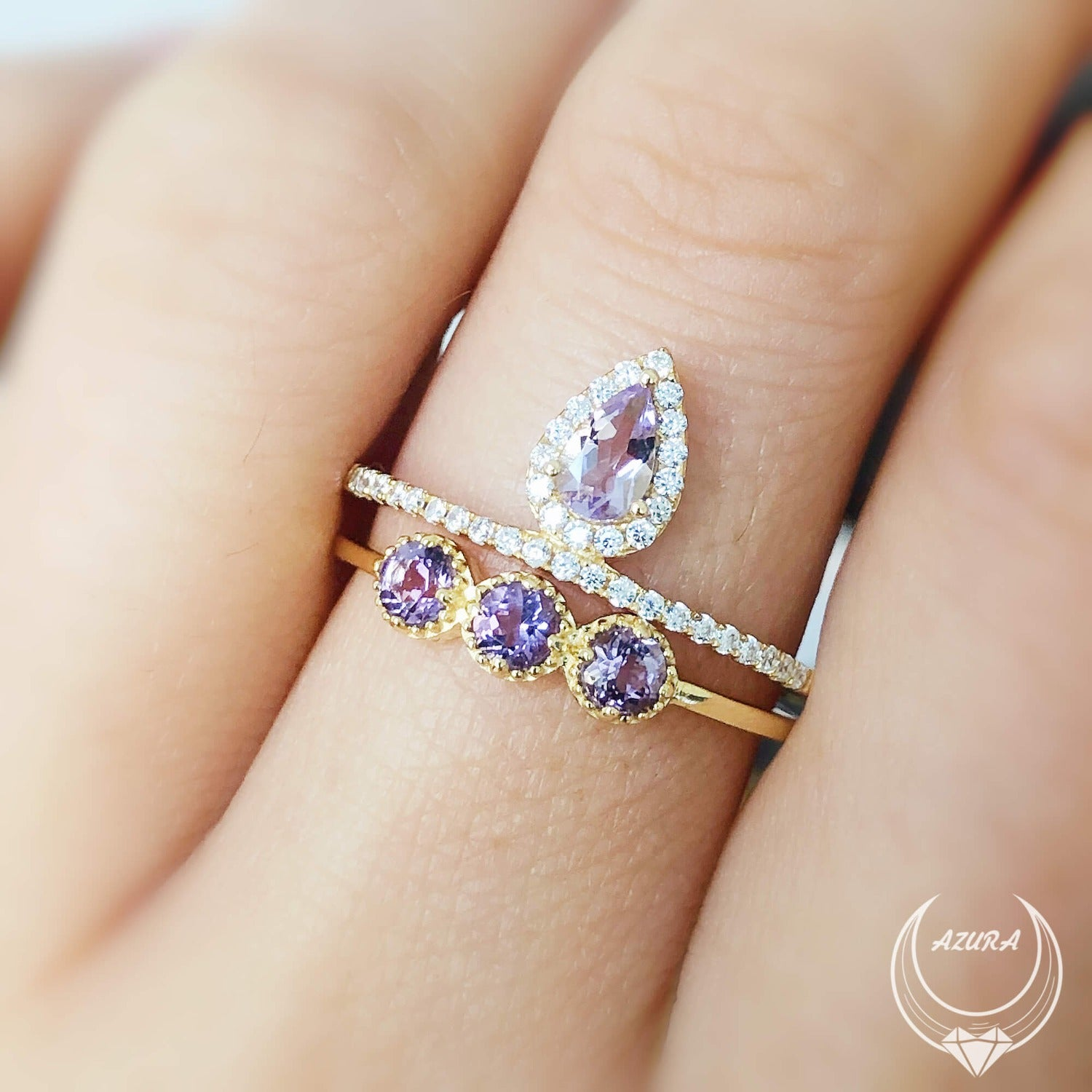 Amethyst Warrior Ring
