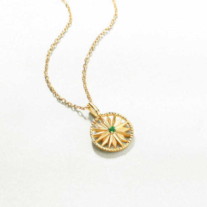 Wheel Of Fortune Emerald Necklace