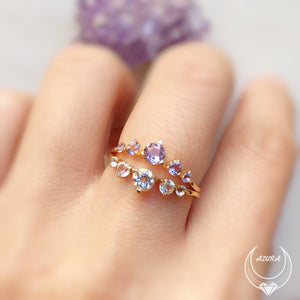 Load image into Gallery viewer, Transcendence Amethyst Ring