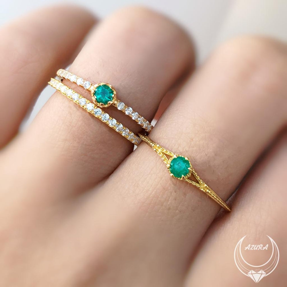 A Promise Of Life Emerald Ring