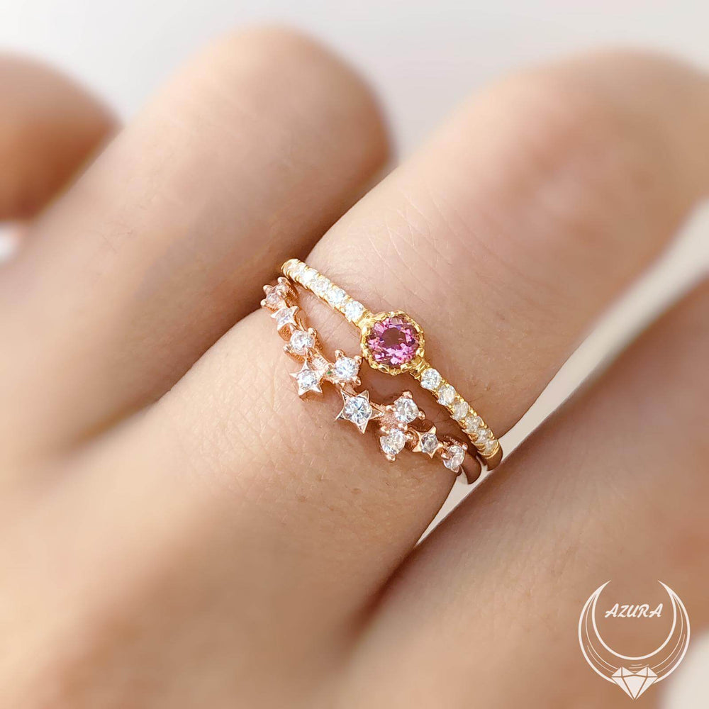 A Promise Of Life Pink Tourmaline Ring