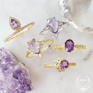 Load image into Gallery viewer, Nirvana Amethyst Ring