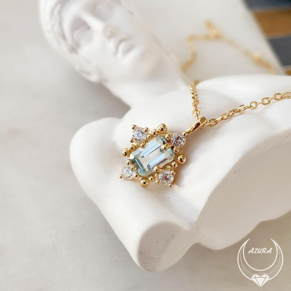 Alchemy Aquamarine Necklace