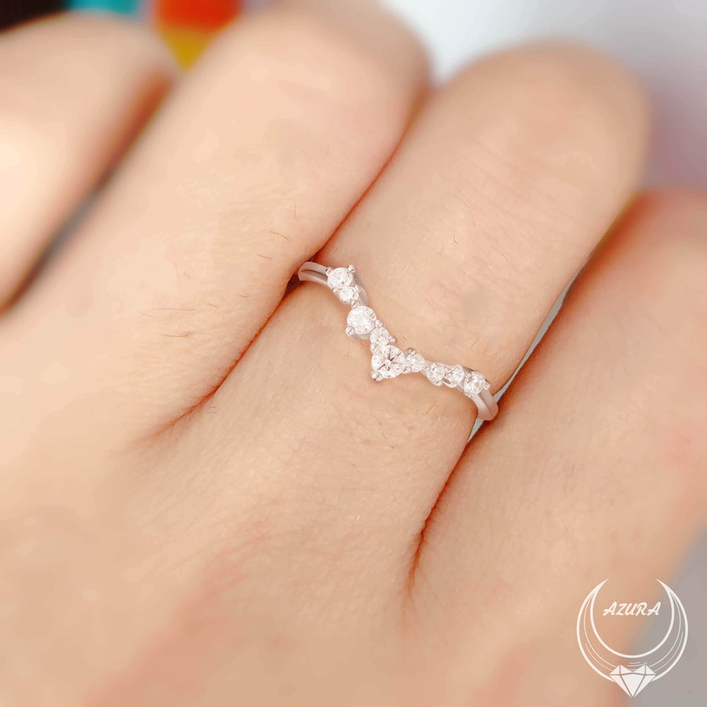 Twinkle Band (White Gold)