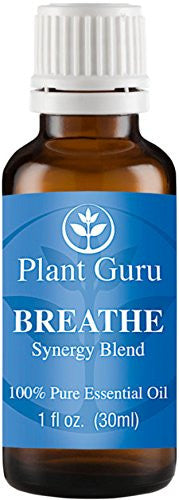 Breathe Respiratory Synergy Blend Essential Oil 1 oz 100% Pure, Undiluted, Therapeutic Grade