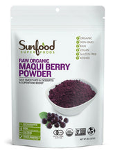 Raw Organic Maqui Berry Powder 8 oz Sunfood Superfoods
