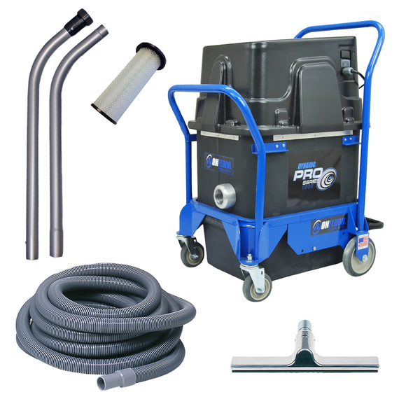 DynaVac 200 Contractor Hepa Pack | Hepa Filter Vacuum Kit - Onfloor