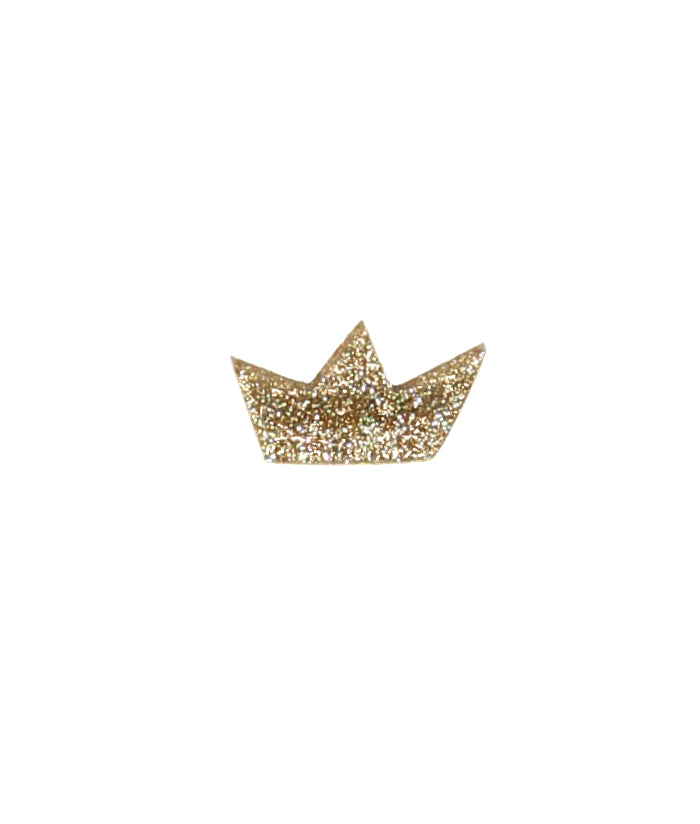 brooch – gold crown