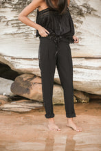 mamapapa - ally longer top black