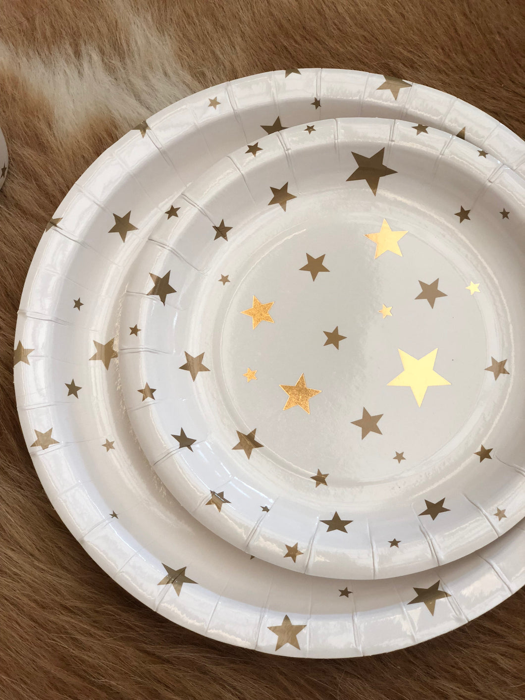 Gold star disposable paper cutlery