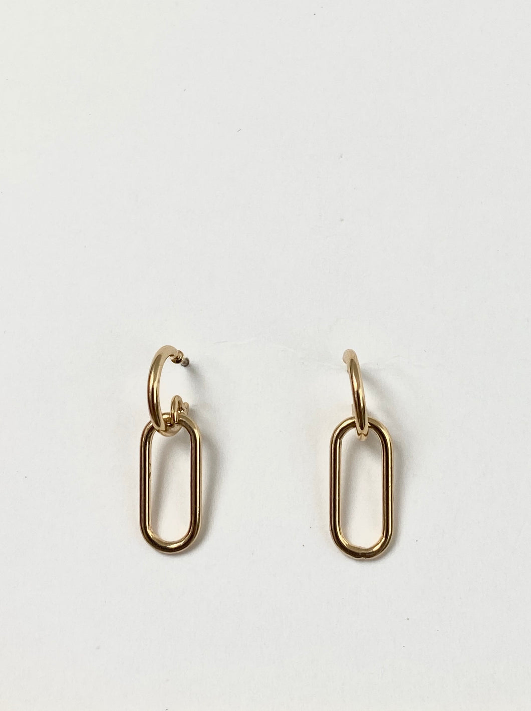 Hoops attached earrings