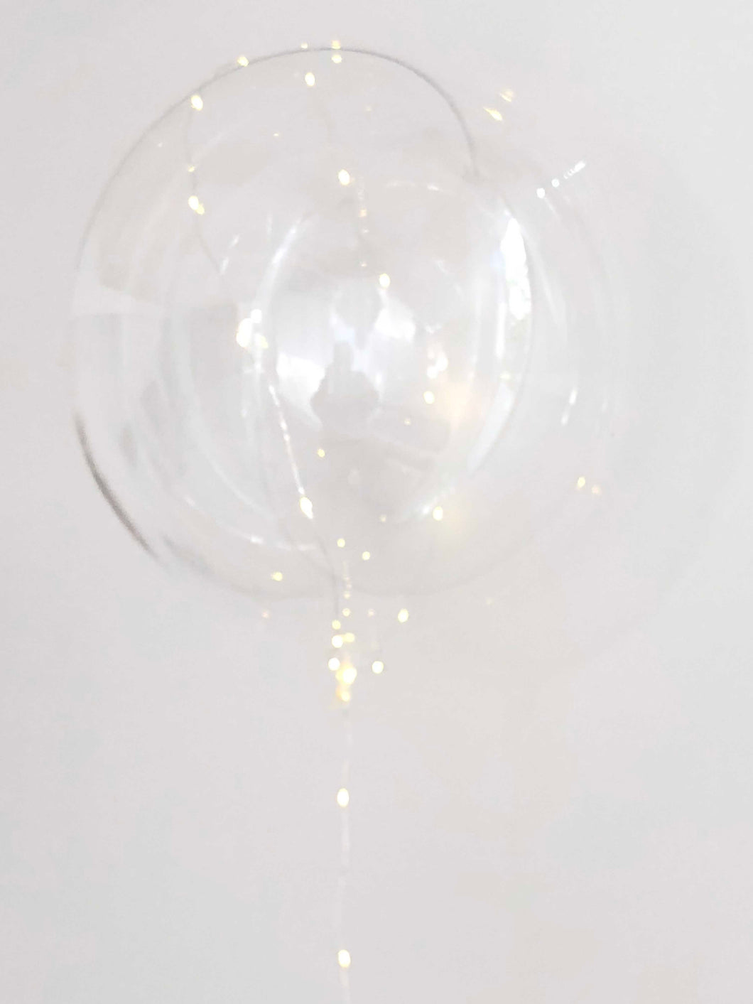 Capella clear LED balloon