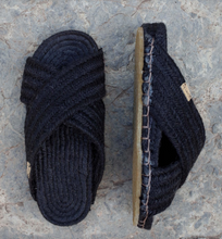 Of origin - Crossover black rope sandals